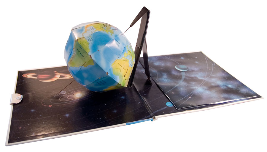 Spinning Globe Pop-Up