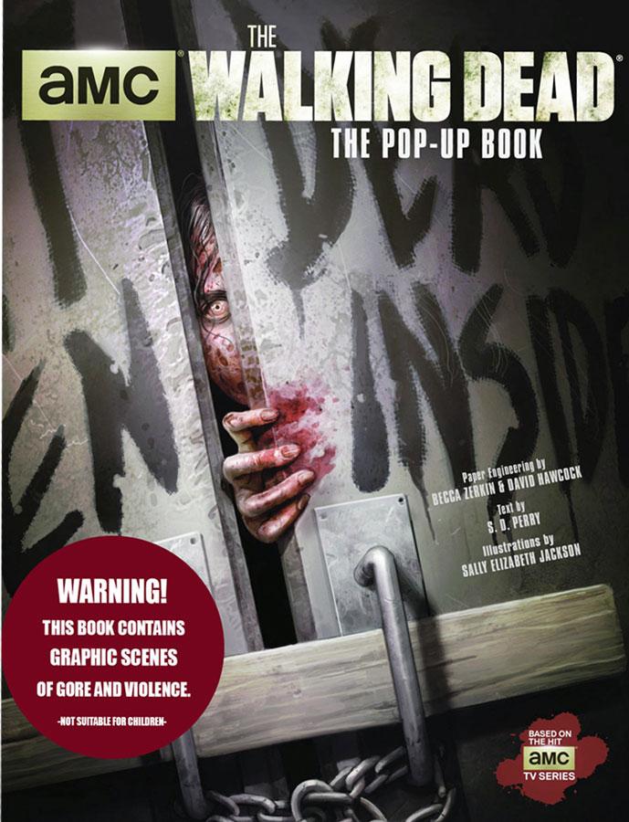 Walking Dead Pop up book